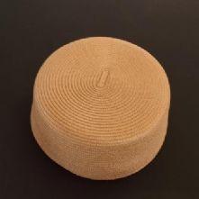 Vintage Style Beige Pill Box Hat